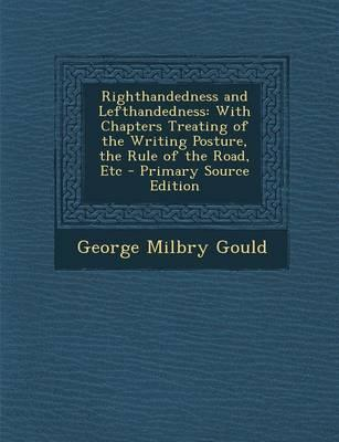 Righthandedness and Lefthandedness