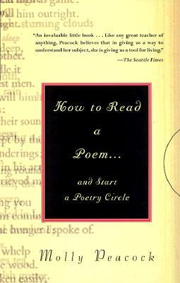 How to Raed a Poem. And Start a Poetry Circle
