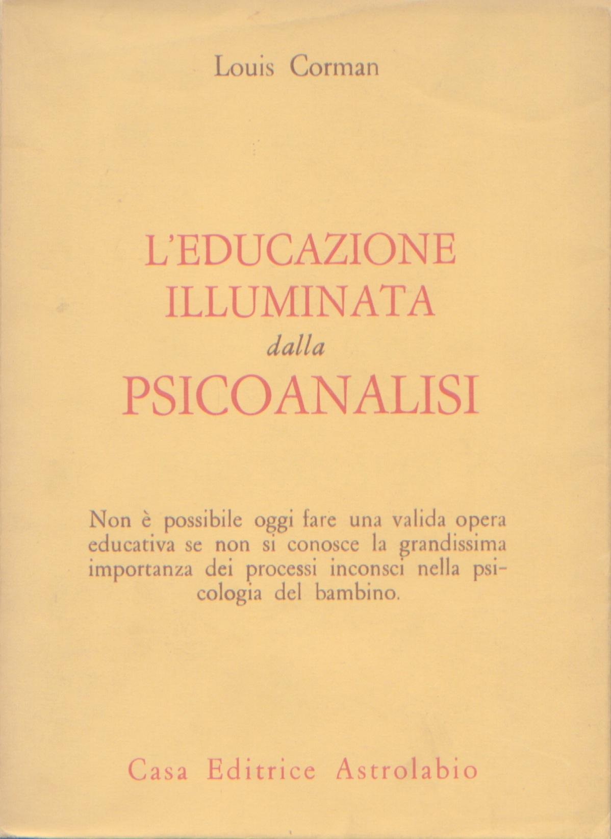L'educazione illuminata dalla psicoanalisi