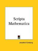 Scripta Mathematica 1932