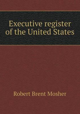 Executive Register of the United States