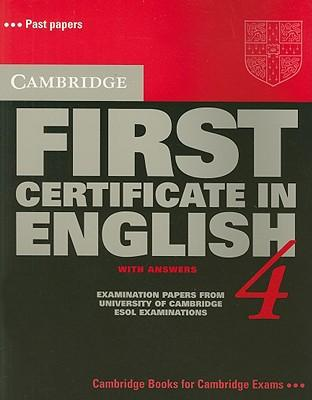 Cambridge First Certificate in English 4 Student's Book with answers