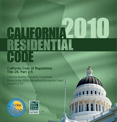 California Residential Code 2010