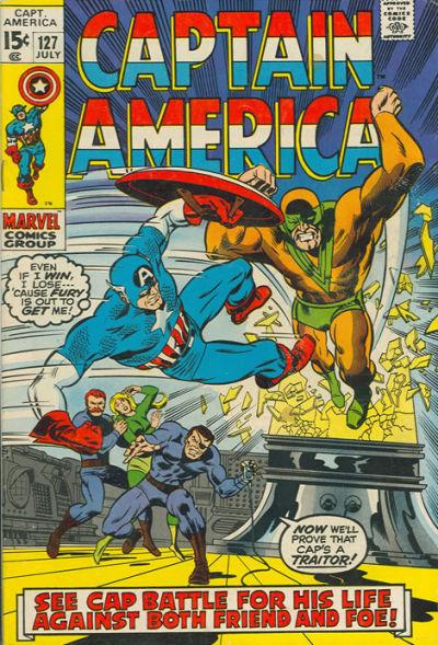 Captain America Vol.1 #127