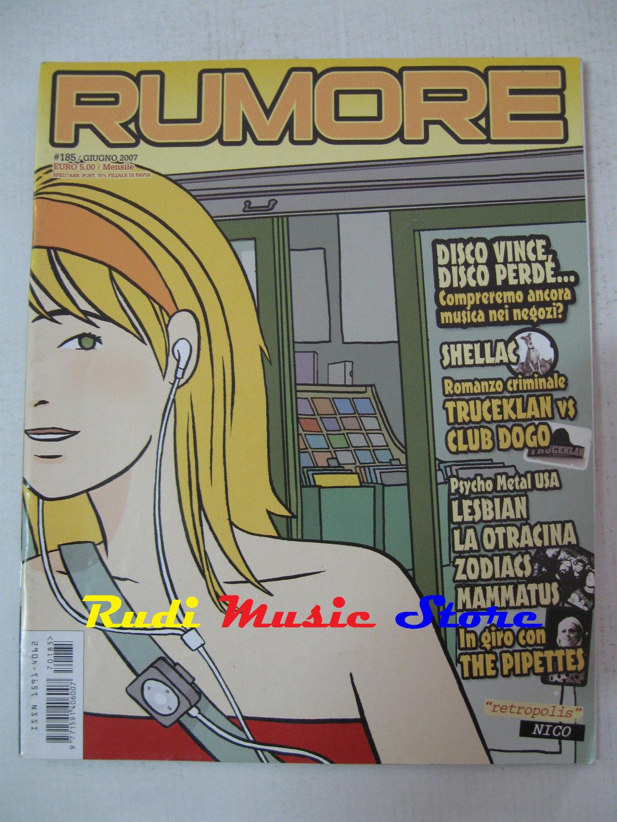 Rumore # 185 Giugno 2007