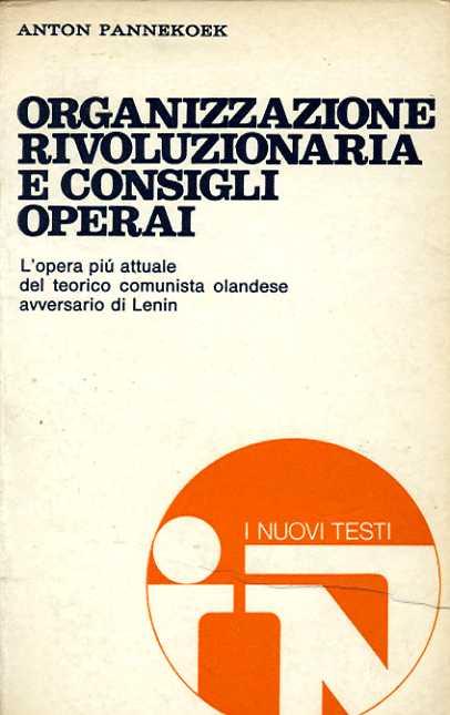 Organizzazione rivoluzionaria e consigli operai