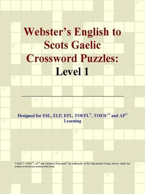 Webster's English to Scots Gaelic Crossword Puzzles