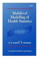 Multilevel modelling of health statistics