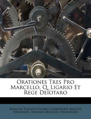 Orationes Tres Pro M...