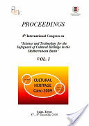 """PROCEEDINGS 4th International Congress on """"Science and Technology for the Safeguard of Cultural Heritage in the Mediterranean Basin"""" VOL. I"""