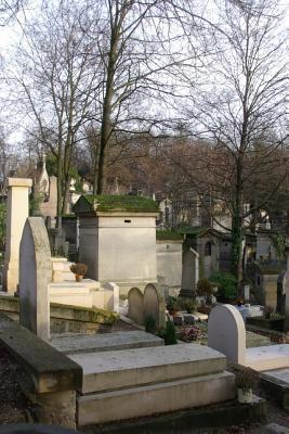 Pere Lachaise Cemetery in Paris France Journal