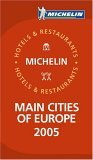 Michelin Red Guide 2005 Main Cities of Europe