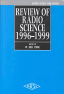 Review of Radio Science 1996-1999