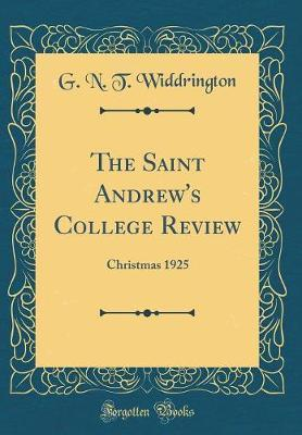 The Saint Andrew's College Review