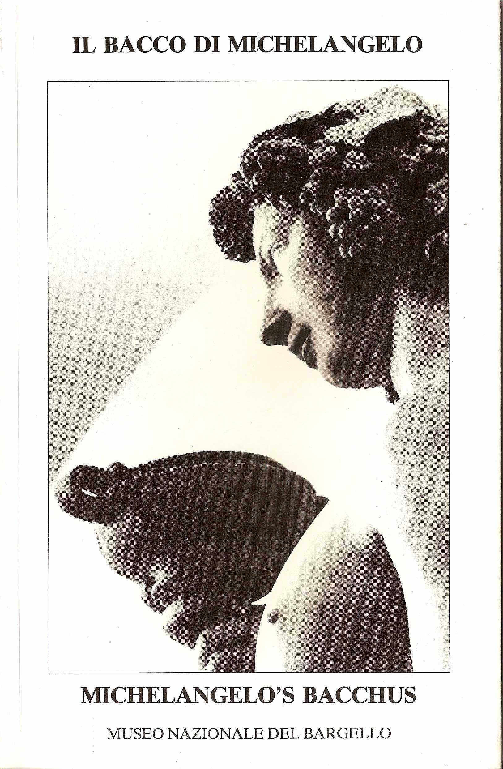 Il bacco di MichelangeloMichelangelo's Bacchus