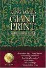 King James Giant Print Reference Bible