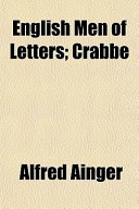 English Men of Letters; Crabbe