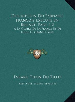 Description Du Parnasse Francois Execute En Bronze, Part 1-2