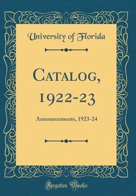 Catalog, 1922-23