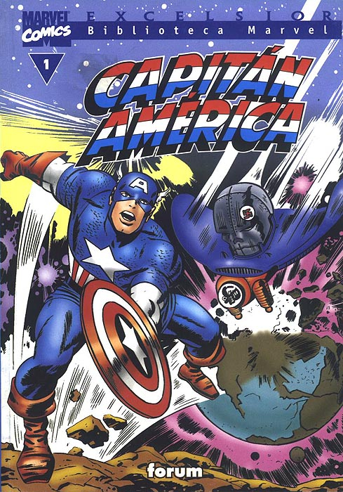 Biblioteca Marvel: Capitán América #1 (de 20)