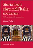 Storia degli ebrei nell'Italia moderna