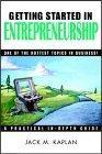 Getting Started in Entrepreneurship