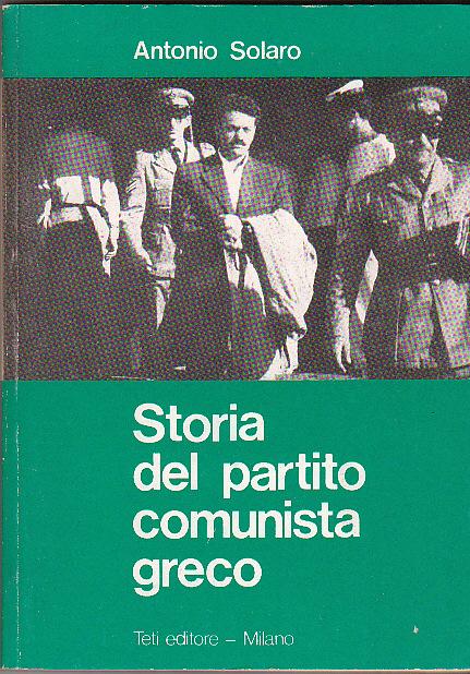 Storia del Partito Comunista Greco