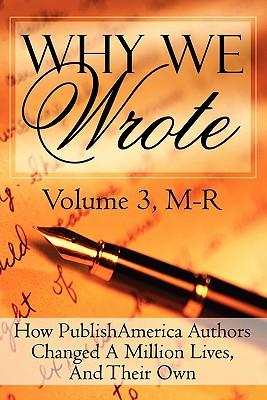 Why We Wrote