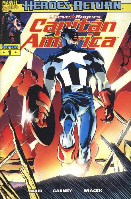 Capitán América Vol.4 #1 (de 27)