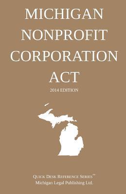 Michigan Nonprofit Corporation Act 2014