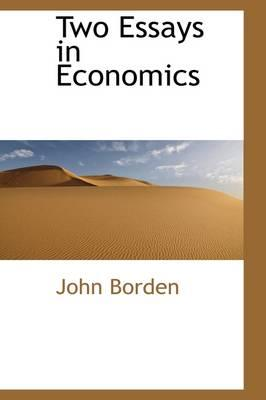 Two Essays in Economics