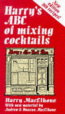 Harry's ABC of Mixing Cocktails