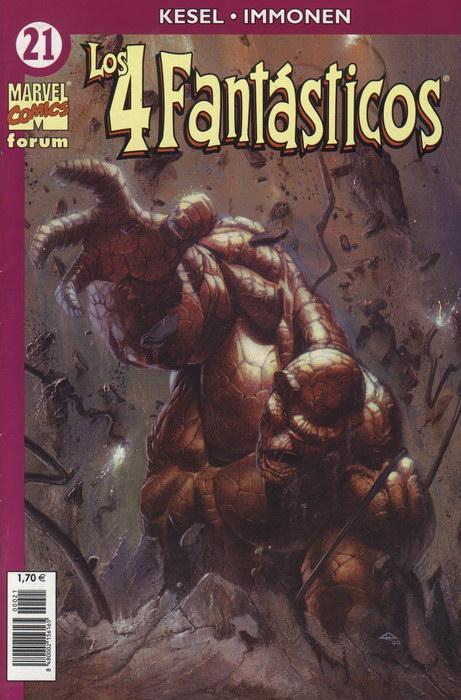 Los 4 Fantásticos Vol.4 #21 (de 24)