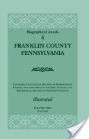 Biographical Annals of Franklin County, Pennsylvania, VOLUME 2