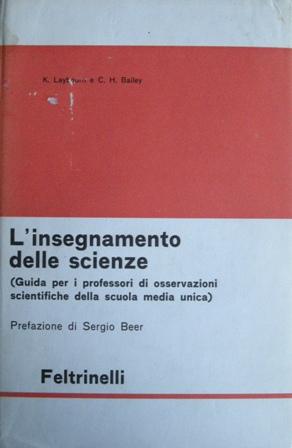 L'insegnamento delle scienze