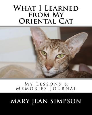 What I Learned from My Oriental Cat