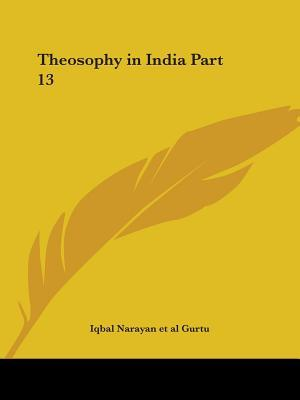 Theosophy in India Nos. 1-12 1916