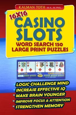 Casino Slots Word Search 150 Puzzles