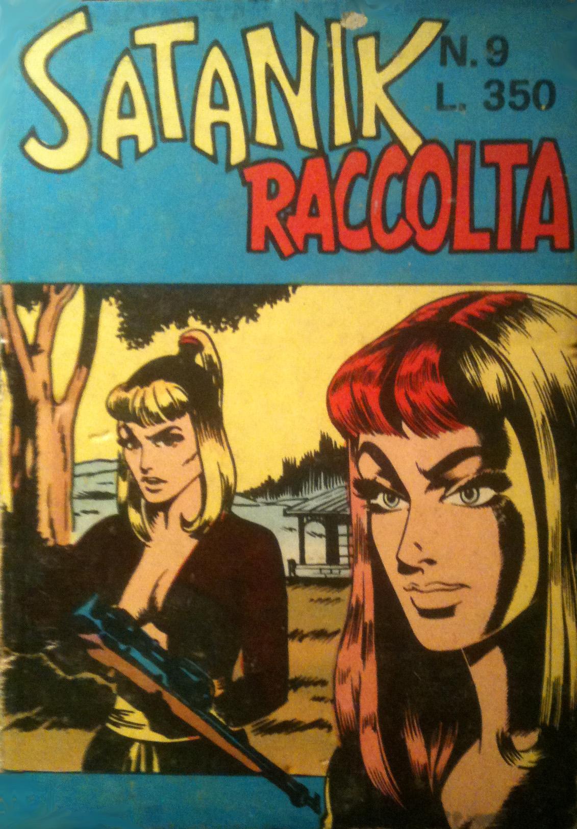 Satanik raccolta n. 9