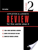 Appleton and Lange's Review for the USMLE Step 2