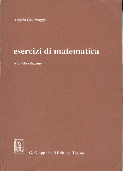 Esercizi di matematica