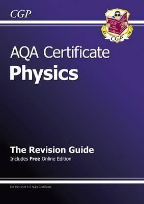 AQA Certificate Phys...