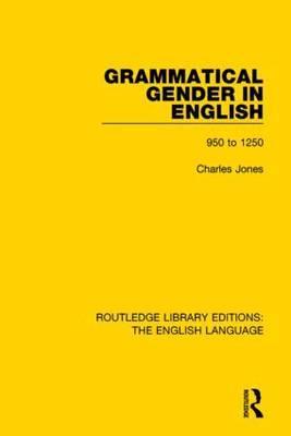Grammatical Gender in English