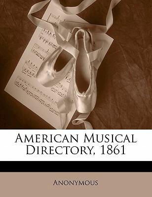 American Musical Directory, 1861