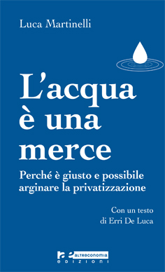 L'acqua è una merce