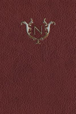 Monogram N Meeting Notebook