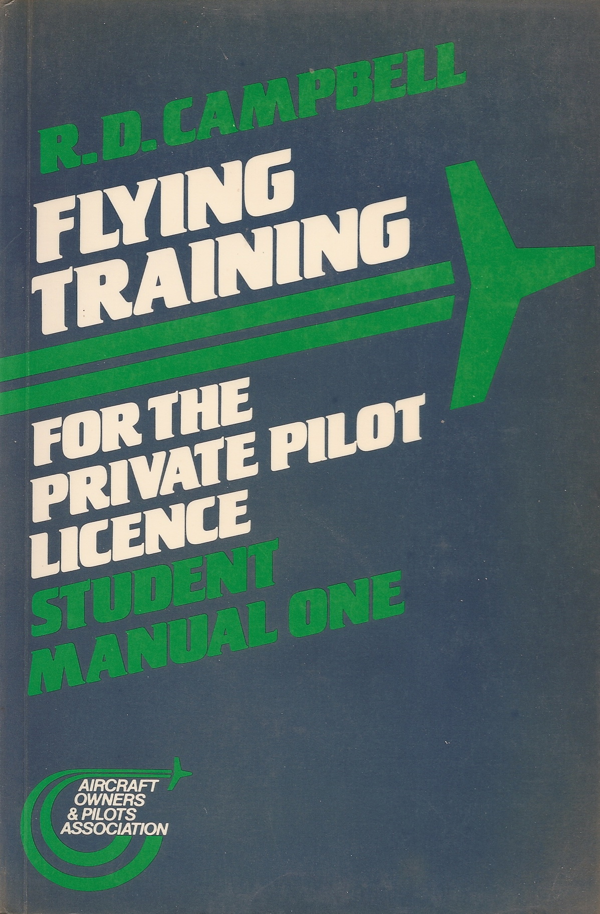 Flying training for the private pilot licence