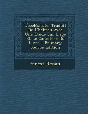 L'Ecclesiaste