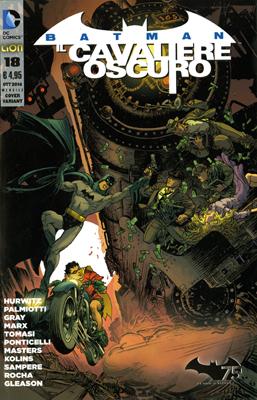 Batman Il Cavaliere Oscuro, n. 18 - Variant