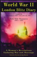 World War II London Blitz Diary 1939-1940
